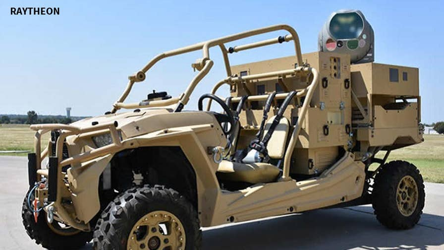 Forget costly missiles, the military is now using ATVs equipped with high-power lasers to shoot down enemy drones.  More cost efficient, easy to use and accessible on the battlefield, this ground breaking tech is helping keep our troops and America safe.