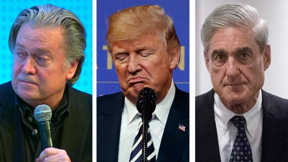 Steve Bannon: Trump likely 'going to war' with Mueller