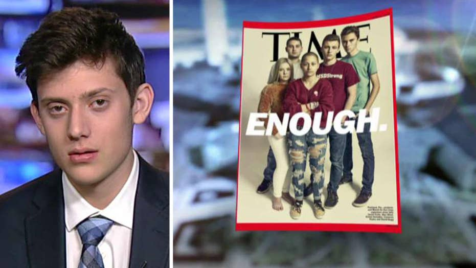 Is the Time magazine cover highlighting Parkland one-sided?