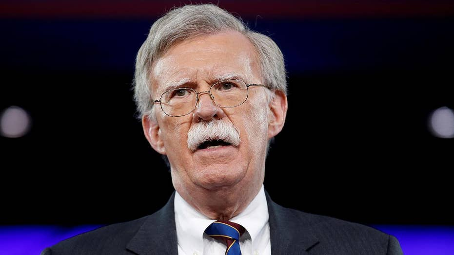 John Bolton embracing the national security challenges