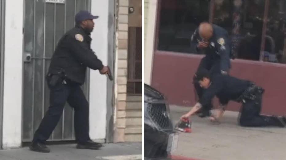 Officer injured in fatal San Francisco shootout
