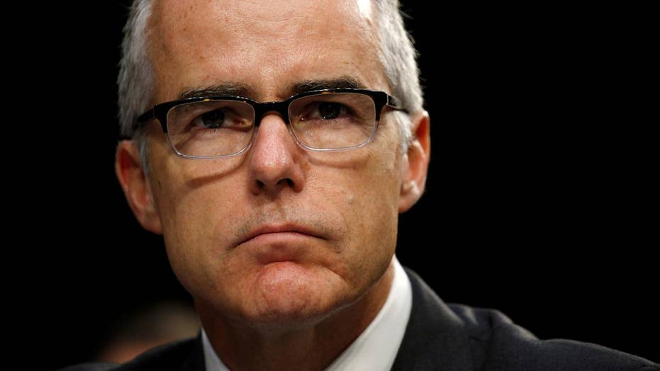 Andrew McCabe speaks out about being fired in editorial