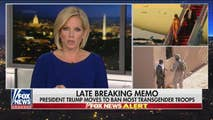 On Friday, Shannon Bream brings you the late breaking news of President Trump's memo banning most transgender troops from military service, as well as the response of advocacy organizations. Then later, news of compromises made in the newly passed spending bill has conservatives frustrated, including the President himself.