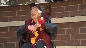 During a very improbable NCAA tournament run, Loyola University's biggest star is Sister Jean who has captured attention for her prayers and bracket