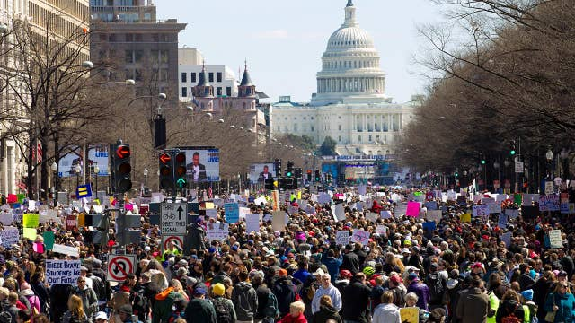 Thousands gather nationwide for March for Our Lives rallies