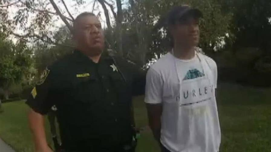 Raw video: Broward County Sheriff's Office arrest of Zachary Cruz, brother of the Parkland shooter.