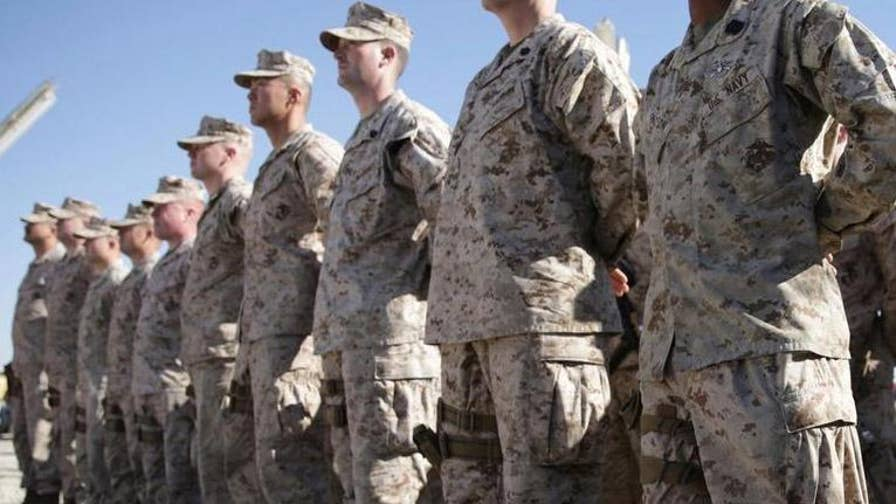 The White House issues new policies banning most transgender Americans from servicing in the U.S. military; Leland Vittert reports.
