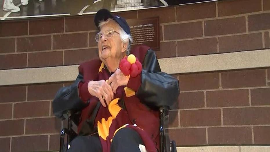 Sister Jean from Loyola Chicago is campus superstar