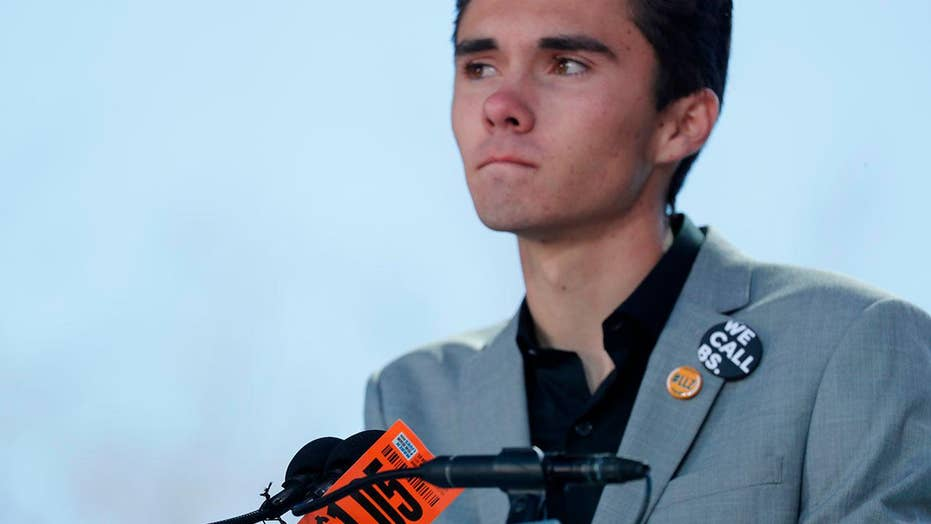 David Hogg: We are going to make guns the voting issue