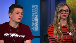 Marjory Stoneman Douglas High School students Delaney Tarr and Cameron Kasky and what they hope was accomplished by Saturday's protests.