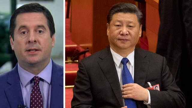 Rep. Devin Nunes: China has to be taken on
