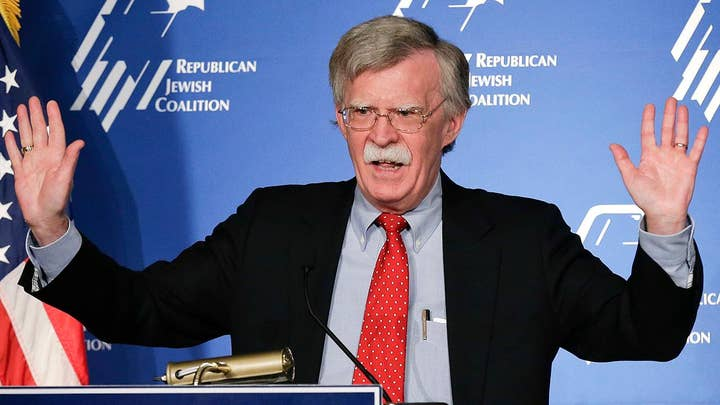 What will John Bolton's role be in the Trump administration?