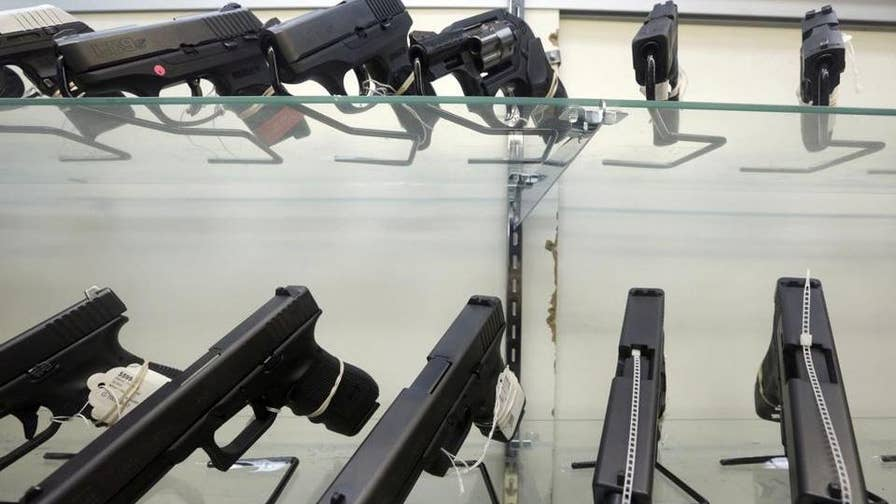 53% of voters answered that protecting citizens from guns is more important than protecting the right to own guns; 'America's News HQ' political panel reacts.