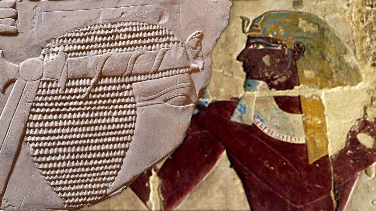 Mysterious ancient artwork depicting female pharaoh found by accident