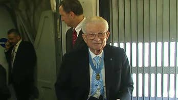 Medal of Honor recipients fly to Washington, D.C. to mark National Medal of Honor Day.