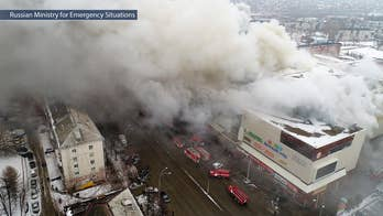 Huge fire at Winter Cherry mall in Siberia leaves at least 64 dead.