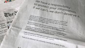 Zuckerberg takes out apology ads in US and UK papers