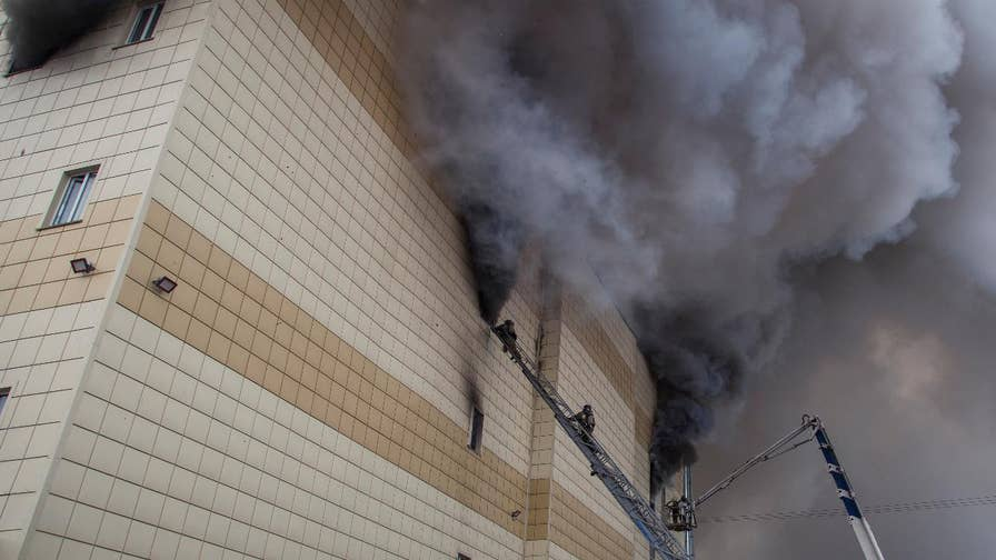 A deadly fire at a shopping mall kills at least 64 people in Russia. Officials have not determined the cause of the blaze, but said fire exits were blocked and an alarm system was turned off. A criminal investigation is ongoing.