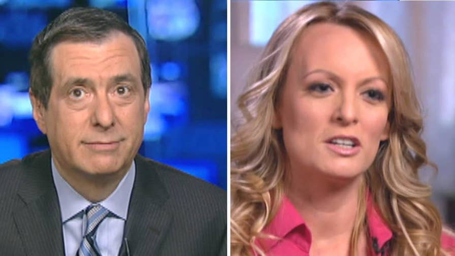 'MediaBuzz' host Howard Kurtz weighs in on the media salivating over the '60 Minutes' Stormy Daniels interview despite the story not being moved forward.