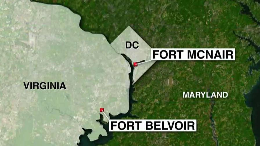 Federal agents have found several suspicious packages delivered to military locations in the Washington area, including Fort Belvoir, Fort McNair and the Dahlgren Naval Surface Warfare Center.