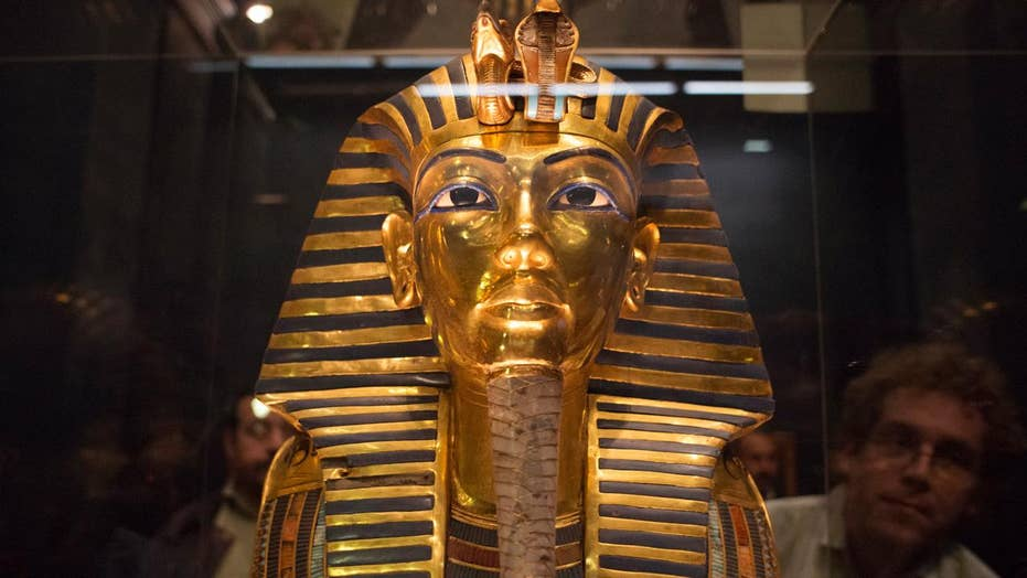 King Tutankhamun may have been a boy soldier