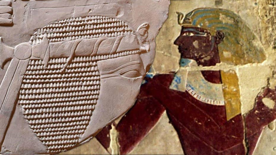 Mysterious Egyptian pharaoh head discovered by accident