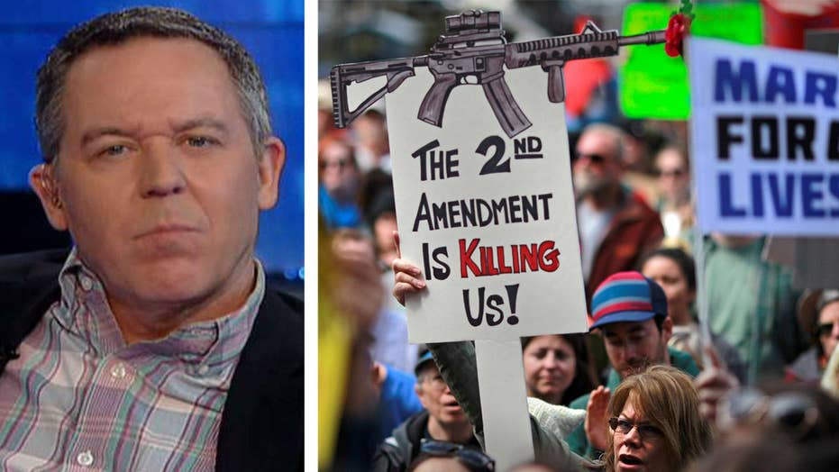 Gutfeld on Saturday's gun control march