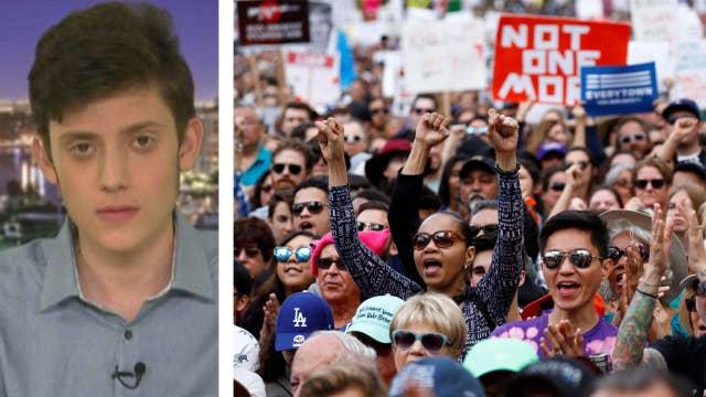 Parkland survivor says gun-control protests deflect blame