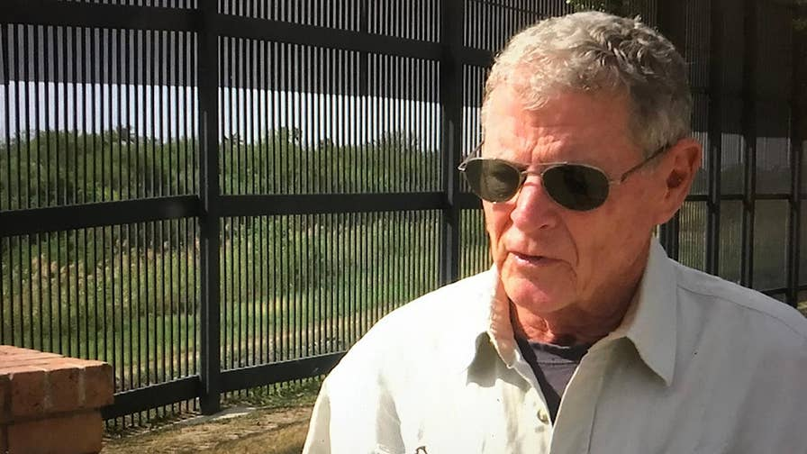 Oklahoma Senator James Inhofe is writing legislation that would require illegal immigrants to immediately go home if caught