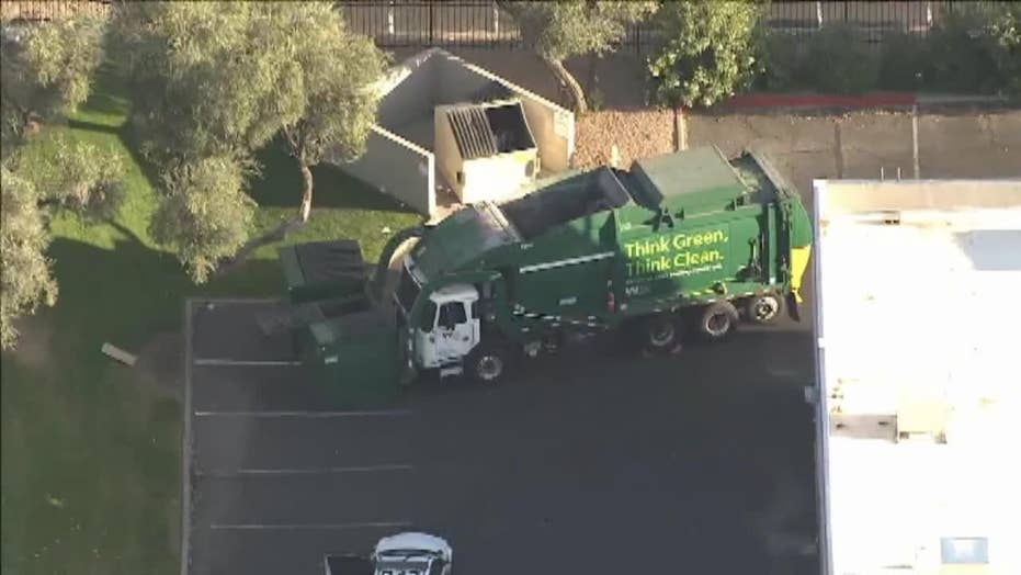 Woman sleeping in dumpster was deposited into garbage truck