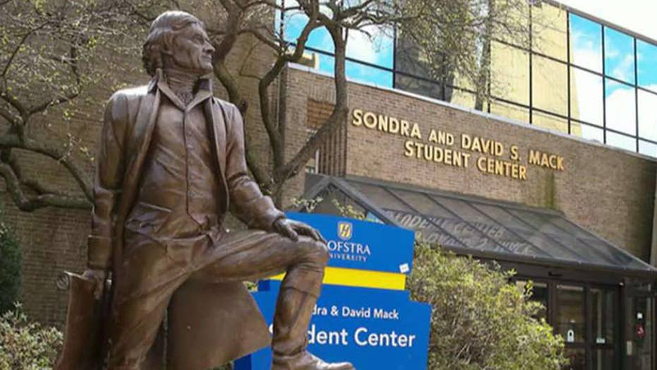 Hofstra students want Jefferson statue removed