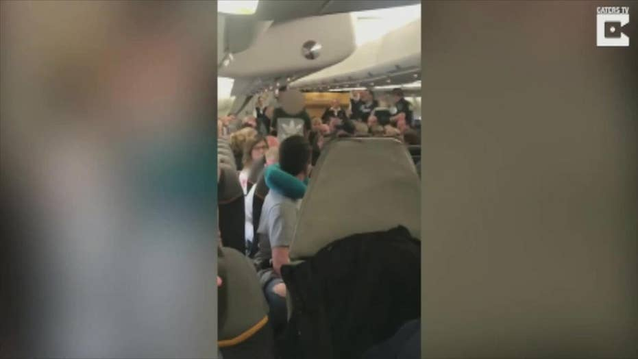 Crazy airline video: Bachelor party booted from Vegas bound flight