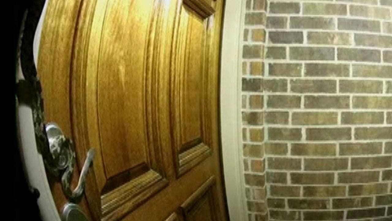 Doorbell cam captures creepy snake slithering around front door | Fox News & Doorbell cam captures creepy snake slithering around front door ...