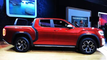 The Volkswagon Atlas Tanoak concept is a pickup version of the popular Atlas SUV that VW is thinking about building in the USA.