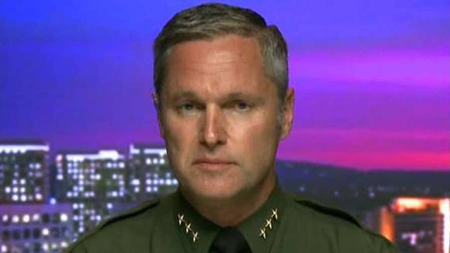 Don Barnes tells 'Hannity' why his department is helping ICE enforce federal immigration laws.