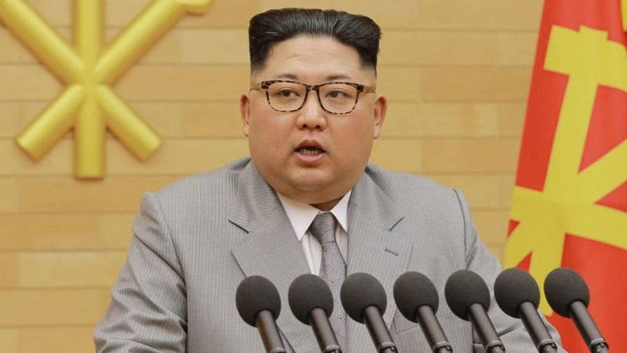 Chinese state media reports Kim told President Xi he is committed to a nuclear-free Korean peninsula and is willing to discuss the issue with the U.S.; Rich Edson reports from the State Department.