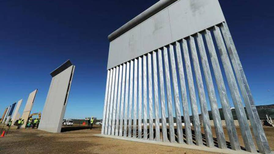 Reports: President Trump floats idea for military to pay for border wall with increased funds from spending bill; Republican congressman from Wisconsin Mike Gallagher says he's willing to work with the president, but won't 'rob Peter to pay Paul.'
