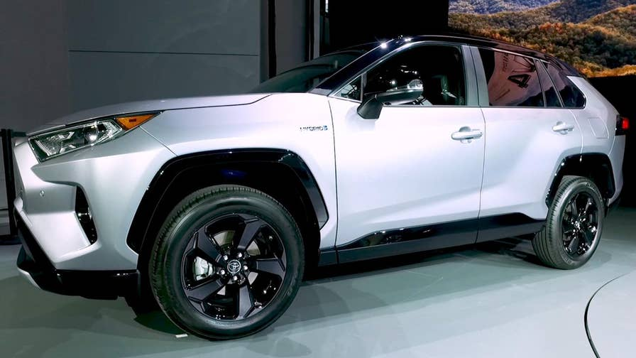 The Toyota Rav4 became the best selling vehicle that's not a truck last year, and the all new one kind of looks like one.