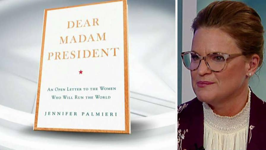 Jennifer Palmieri, author of 'Dear Madam President,' comments on Hillary Clinton's 2016 presidential campaign and obstacles that women face when running for office.