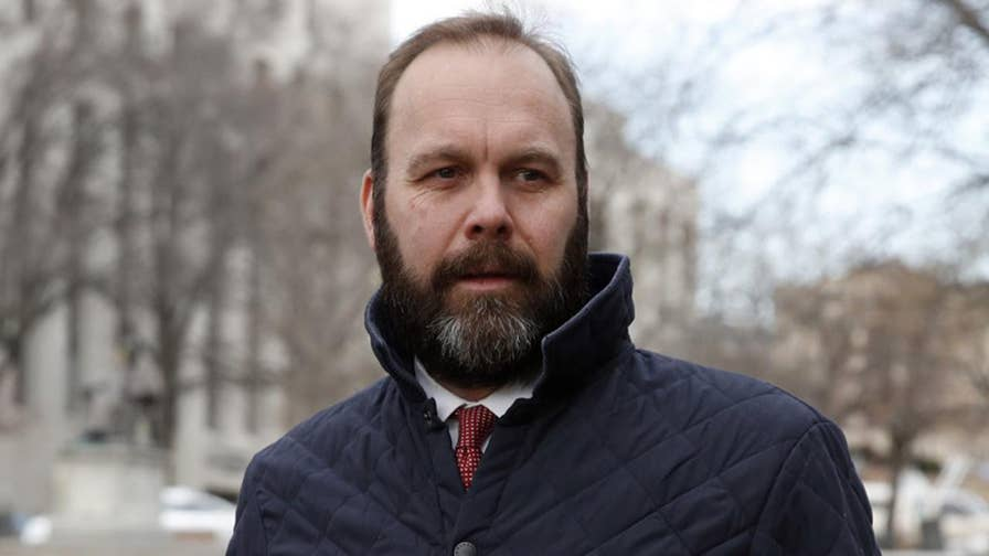 Former Trump campaign deputy chairman Rick Gates communicated with a person with ties to a Russian intelligence service in late 2016, Special Counsel Robert Mueller stated in a new court filing; reaction from Jeff Mason, White House correspondent for Reuters.