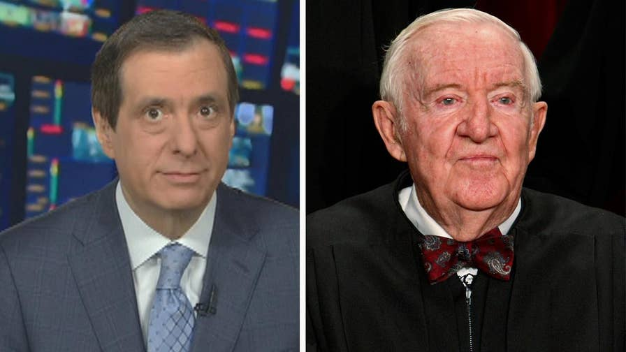 'MediaBuzz' host Howard Kurtz weighs in on former Supreme Court Justice John Paul Stevens' statement that the Second Amendment should be repealed and how it created an even bigger schism in the gun control debate.