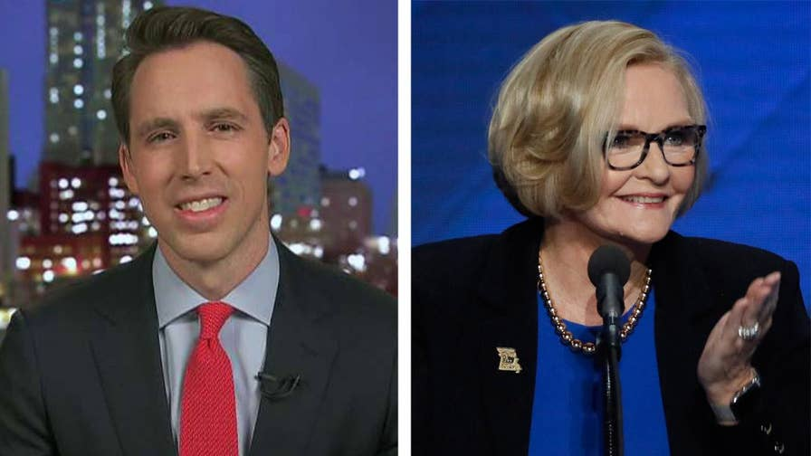 Republicans are hoping to flip the Missouri Senate seat. Missouri attorney general and Republican candidate for senator Josh Hawley joins 'The Story' to discuss his platform.