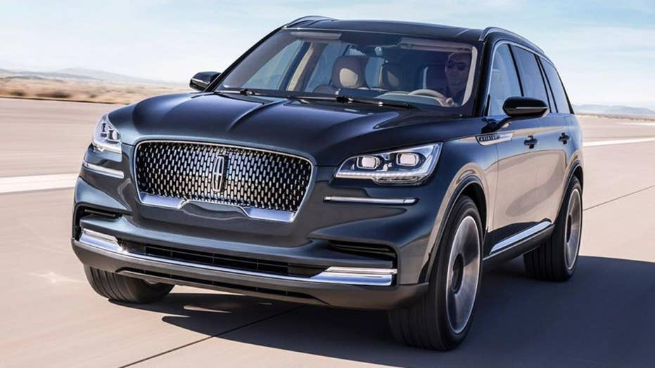 New York Auto Show The Lincoln Aviator Suv Returns Fox News