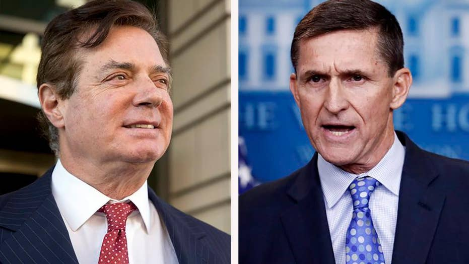 White House deflects questions on Flynn and Manafort pardons