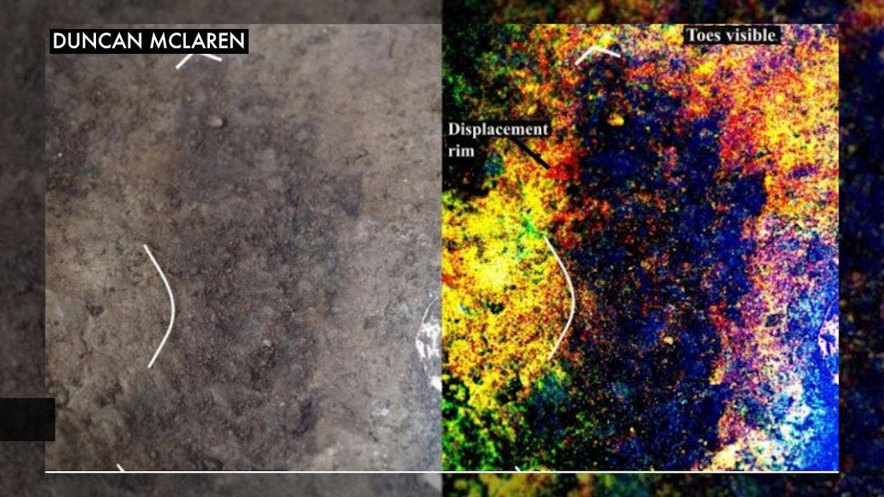 Oldest human footprints in North America suggest 'early entrance' into the Americas