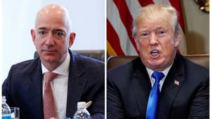 President Trump lashed out at Amazon on Twitter a day after an Axios report said he planned to 'go after' the retail giant. Here's a look back at Trump's beef with Amazon.