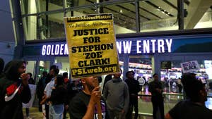 Claudia Cowan reports from California where protesters are calling on prosecutors to file criminal charges against officers involved in the fatal shooting of Stephon Clark.