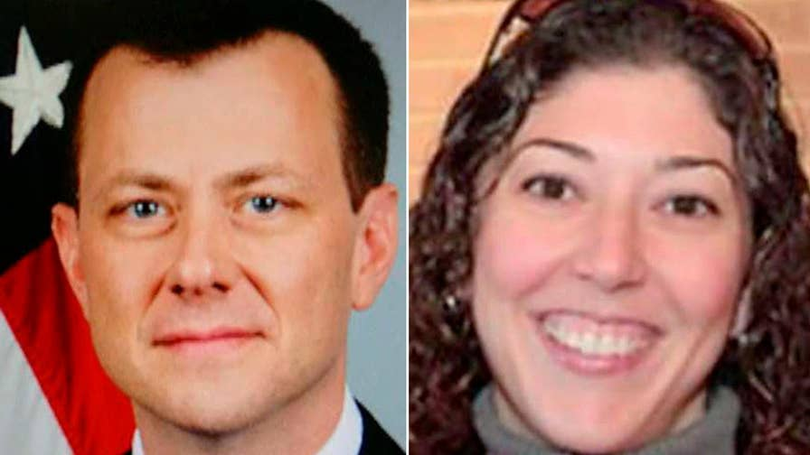 Strzok's text refers to inter-agency meeting.