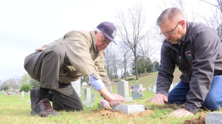 Georgians aim to replace slapdash markers memorializing children with sturdier, permanent graves.
