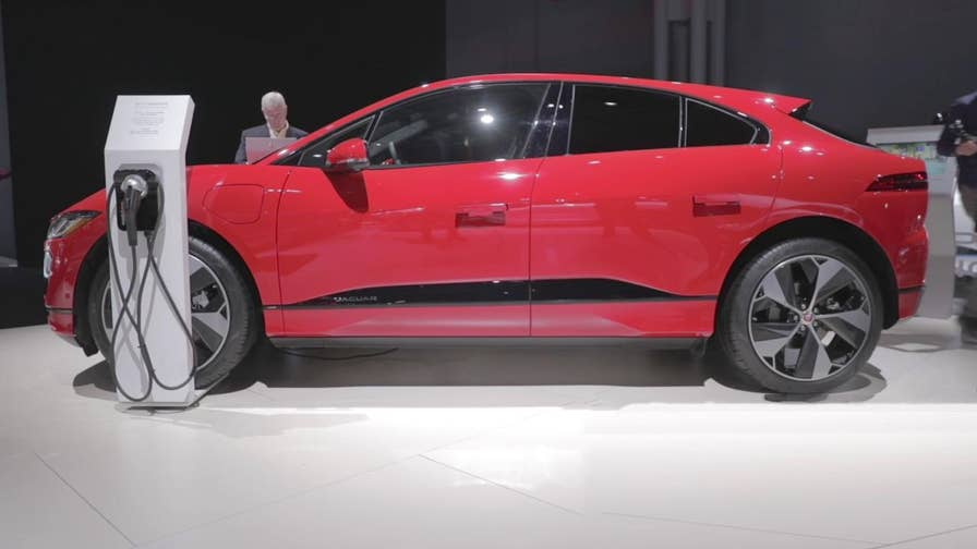 Jaguar design director Ian Callum has designed a lot of cars in his career, but never one like the I-Pace, the brand's first electric car. He tells Fox News Autos why it looks the way it does.